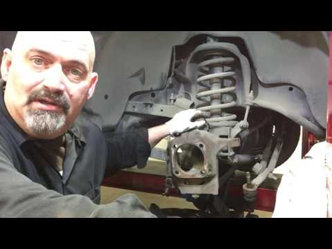 Replace Dodge Ram Ball Joints Tie Rods and Brakes