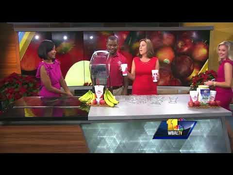 Video: Smoothie King shares healthy holiday smoothie recipe