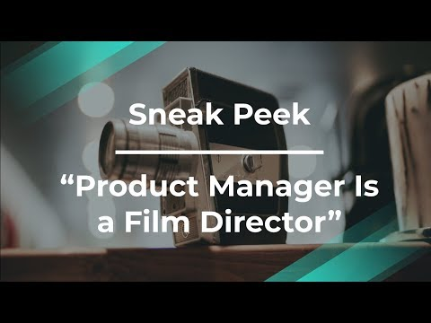 Sneak Peek: Product Manager Is a Film Director by Yahoo! PM