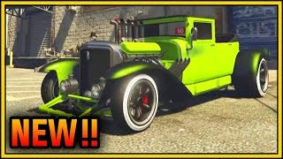GTA 5 -Tornado Rat Rod Rusty or Clean Version HALLOWEEN DLC ...
