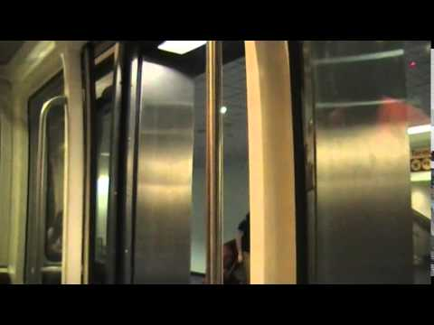 Riding the Inter-Terminal Train from Terminal D & E to Marriott Hotel at Houston Bush IAH Airport
