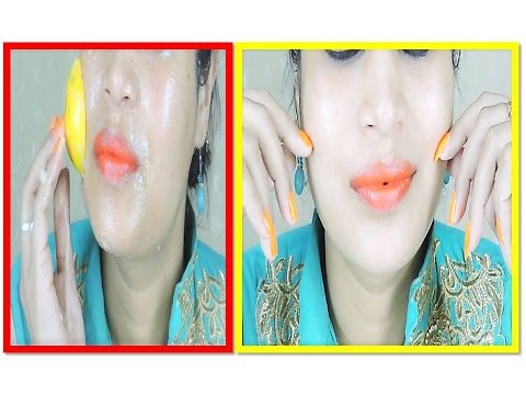 How to get Instantly FAIR GLOWING Skin with homemade Scrubber in Hindi