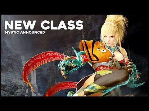 Black Desert Online ► New Mystic Class Revealed (2017)