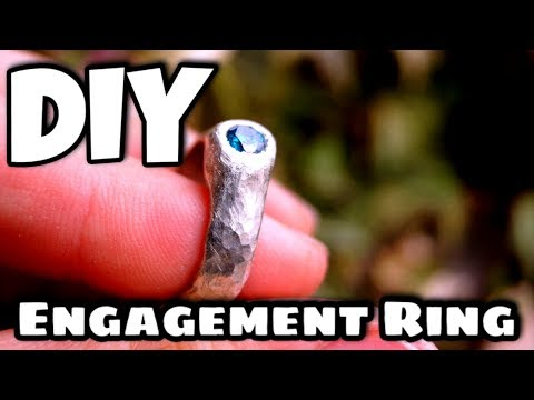 Home Made Diamond Engagment Ring - How to Make