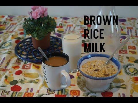 Brown Rice Milk   Vegan, Dairy-Free Milk Alternative