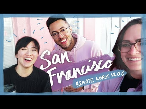 Remote working in San Francisco! - Travel vlog