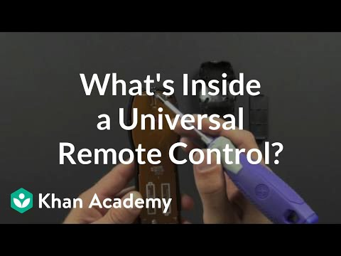 What is inside a universal remote control?   Electrical engineering   Khan Academy