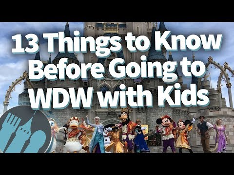 13 Things You NEED to Know Before Going to DISNEY WORLD WITH KIDS!