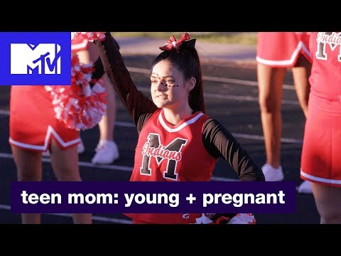 'Cheer Up' Official Sneak Peek | Teen Mom: Young + Pregnant | MTV