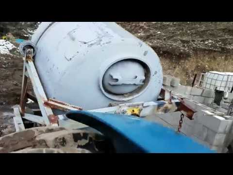 Homemade Cement Mixer