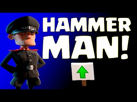 ALL STAGES HAMMERMAN! | Boom Beach | ICE BASE DEFENSE