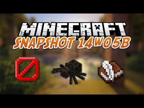 Minecraft Snapshot 14w05B : Blocs invisibles et Game mode 3