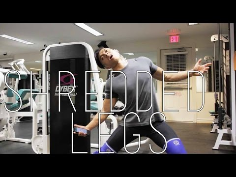 Secret to shredded legs| How to get shredded legs