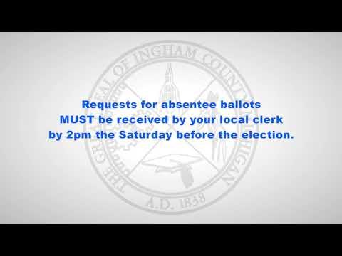Ingham County, MIchigan - Absentee Voting