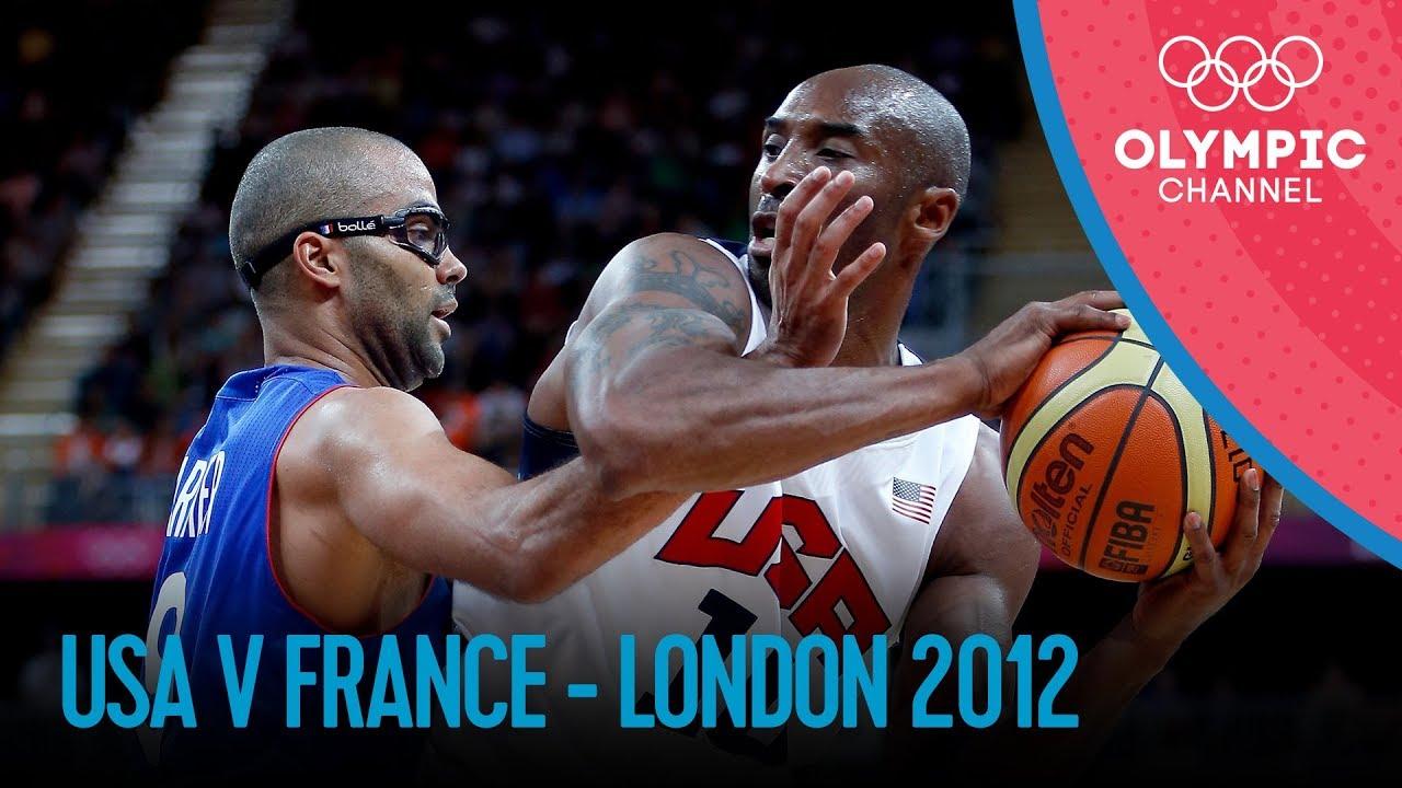 Basketball - Men -  USA-FRA - London 2012 Olympic Games