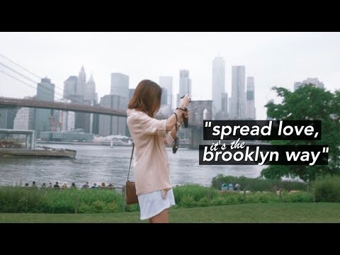 Brooklyn Vlog: Dumbo, Williamsburg, & NY Pizza🍕