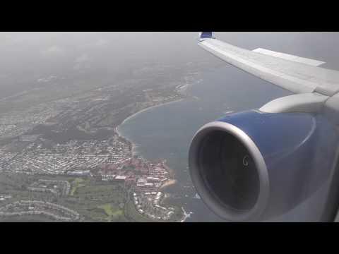 Delta 757-200H Landing in San Juan Puerto Rico