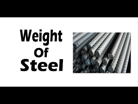 Weight of Steel For Different Diameters