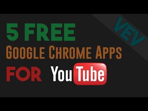 5 Free Google Chrome Apps for YouTube + Bonus