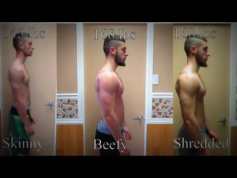 NEW! Natural Body Transformation -Skinny to Muscular- 5 Months Transformation