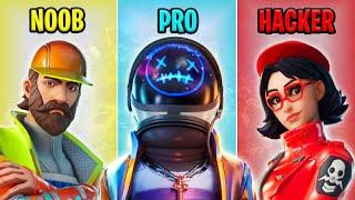 NOOB vs PRO vs HACKER - Fortnite Funny Moments #28