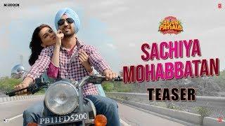 Sachiya Mohabbatan Teaser | Kriti, Diljit, Varun| Dinesh V | Bhushan  K | Rohit J | Sachin-Jigar