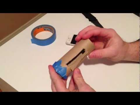 How to make Speakers for a iphone FREE!