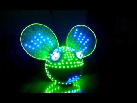 Best Deadmau5 head homemade LED