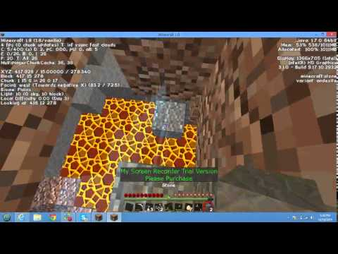 Captive Minecraft EP5 -getting things and also getting done mining,finding some good loot