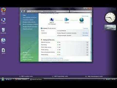 Windows Vista: Disable File Sharing