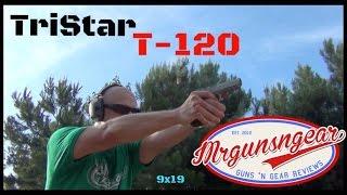 Tristar T-120 9x19 Handgun Review (HD)