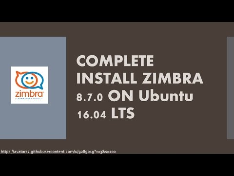 How to install zimbra mail server on debian -