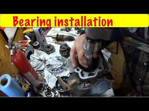 Installation of the Pinion Differential Bearings Part 3