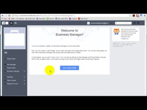 How to claim an existing advertising account within Facebook Business Manager