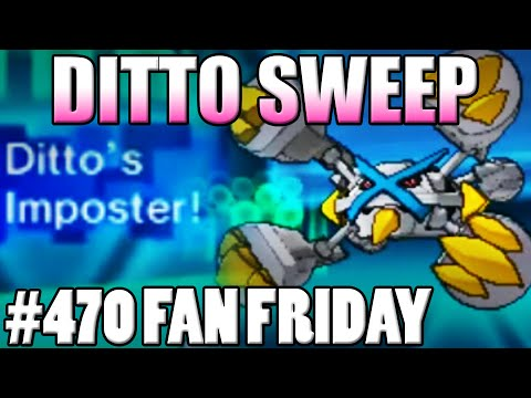 Crazy Ditto Sweep! Pokemon Omega Ruby Alpha Sapphire WiFi Battle! Fan Fridays #470 Francis