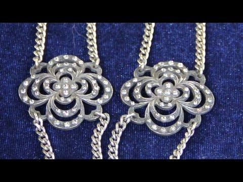 Web Appraisal: Cut-Steel Button Necklace, ca. 1850
