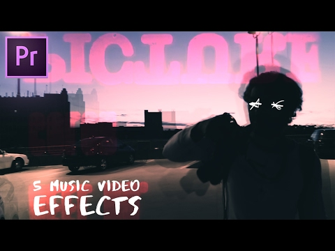 5 Sick Music Video Editing Effects (Scribble / Flicker How to) (Adobe Premiere Pro CC 2017 Tutorial)