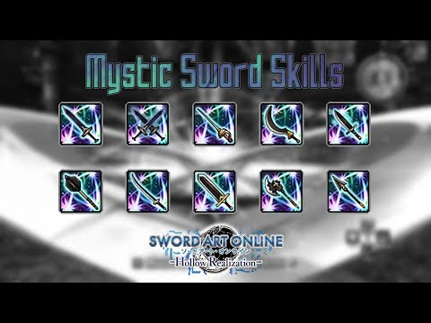 Allied Mystic Sword Skills - Sword Art Online: Hollow Realization