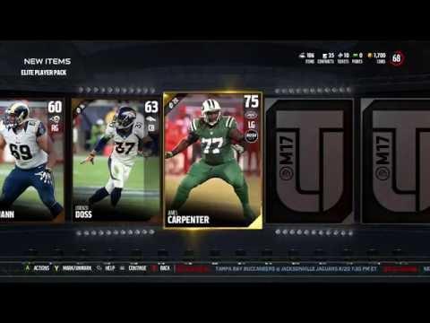 Madden 17 Ultimate Team Elite Player Pack (ELITE PULL)