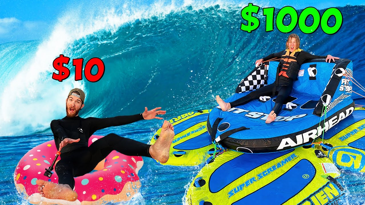 Which Raft can Survive the OCEAN? $10 vs $1000 BUDGET CHALLENGE!