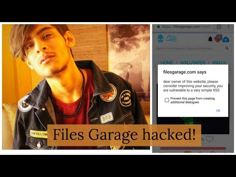 How I Hacked Naman Chhabra's Website (FilesGarage)!