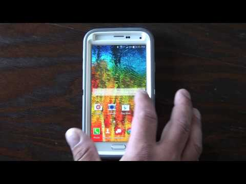 Access Widgets on Samsung Galaxy S5