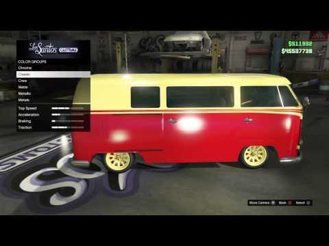 Custom BF Surfer Pre-Modded Parts, Paintjobs & Sell Prices GTA V Online