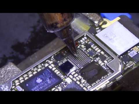 iPhone 6 plus no touch IC replacement soldering mail in repair part 1