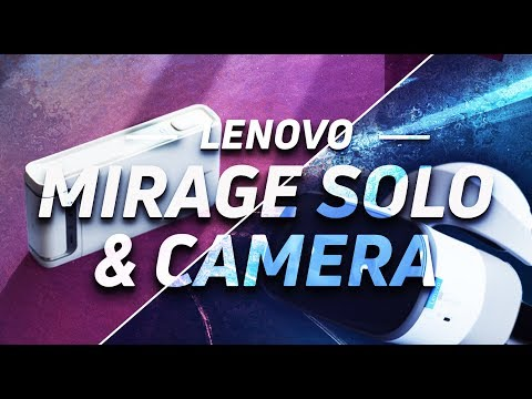 Lenovo Mirage Solo and Camera with Daydream hands-on