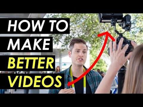 How to Make Better YouTube Videos — 5 Quick Tips