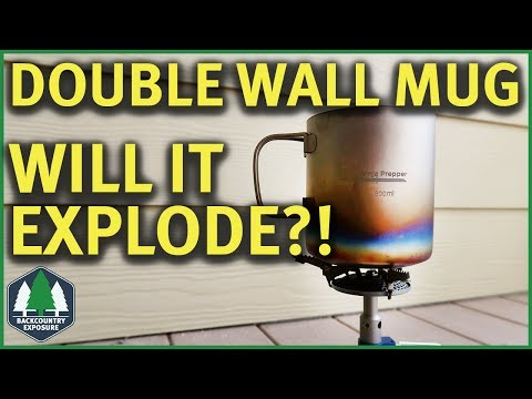 Cooking With A Double Wall Titanium Mug | Will It Explode?!