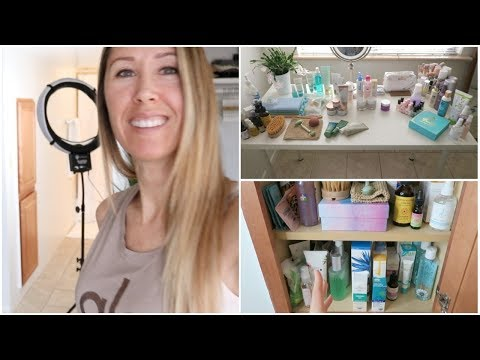 Organizing My Skincare & Beauty Products Collection