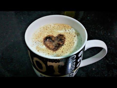 How To Make Perfect Coffee at Home in HINDI - Beaten Coffee Recipe || Indian Cappuccino Recipe
