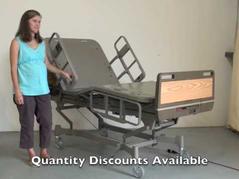 Hill-Rom Centra 850 Hospital Bed Demo (Reconditioned)